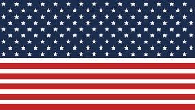 Amerikanska flagganbakgrund för självständighetsdagen och andra händelser 10 eps också vektor för coreldrawillustration Goda för  vektor illustrationer