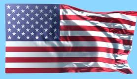 Amerikanska flagganbakgrund, illustration Arkivbilder