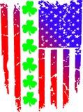 Amerikanska flaggancelticskryddnejlikor stock illustrationer