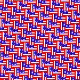 Amerikanska flagganmodell Upprepa bakgrund stock illustrationer