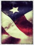 Amerikanska flagganstjärna Royaltyfri Fotografi
