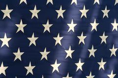 amerikanska flagganstjärnor Royaltyfri Fotografi