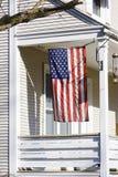 amerikanska flagganutgångspunkt oss Royaltyfri Fotografi