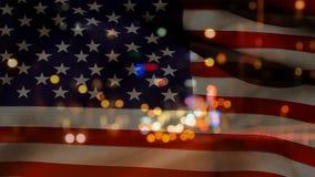 Amerikanska flagganvideo lager videofilmer