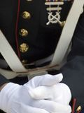amerikanska flottor officer s u Royaltyfria Foton