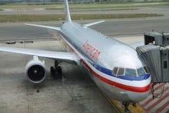 amerikanska flygbolag Arkivbild