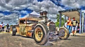 Amerikanska Ford tjaller stången Royaltyfri Fotografi