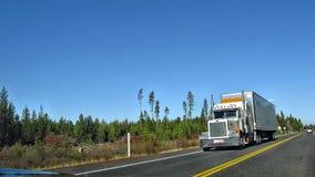 Amerikanska lastbilar Royaltyfri Foto