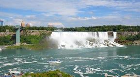 Amerikanska nedgångar Niagara Falls Royaltyfria Bilder