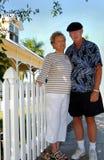 amerikanska par drömm pensionären arkivbild