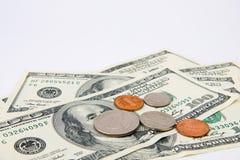 amerikanska pengar Royaltyfri Fotografi