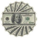 Amerikanska pengar Arkivbild