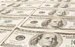 amerikanska pengar Arkivfoton