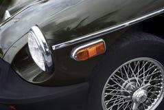 amerikanska retro bilklassiker Arkivfoto