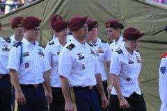 amerikanska soldater Royaltyfri Foto