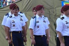 amerikanska soldater Arkivfoto