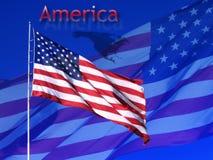 amerikanska tecken vektor illustrationer