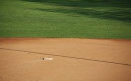 amerikanskt baseballfält Fotografering för Bildbyråer