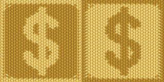 Amerikanskt dollartecken, symbol Arkivbilder