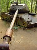 amerikanskt förstört djungelbehållarevietnamkriget Royaltyfria Foton