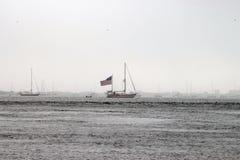Amerikanskt fartyg Royaltyfria Foton