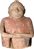 amerikanskt forntida snida Royaltyfri Fotografi