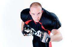 amerikanskt fotbollsspelarebarn Royaltyfri Fotografi