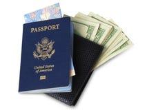 amerikanskt pass Royaltyfri Fotografi