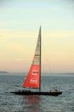 Amerikas Cupboot gefördert von Oracle Lizenzfreies Stockfoto
