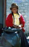 Amerindian woman Stock Photography