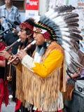 amerindians żywi wykonują Obraz Stock