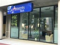 Ameris Bank located on Main Street in Columbia, South Carolina.  royalty free stock photography