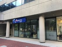 Ameris Bank located on Main Street in Columbia, South Carolina.  royalty free stock images