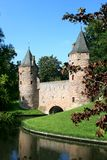 amersfoort παλαιός πόλης τοίχος Στοκ Φωτογραφίες