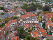 Amersfoort from above. Amersfoort seen from the Lieve-Vrouwe-toren. The Netherlands Stock Photos