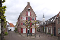 Amersfoort, belle vieille ville Hanseatic aux Pays-Bas Image stock