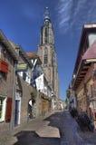 Amersfoort Churchtower, Hollande Photographie stock