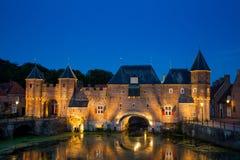Amersfoort city Gate - Koppelpoort royalty free stock photography