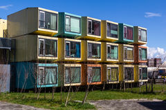 Amersfoort, Colorful student accommodation Stock Photos