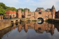 Amersfoort. Medieval gate Koppelpoort in Amersfoort, Netherlands Stock Image