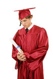 Amertume de graduation Images stock