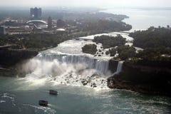amerykańscy łodzi Canada falls Fotografia Royalty Free