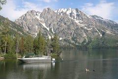 Amerykańscy alps od Jenny jeziora zdjęcia royalty free