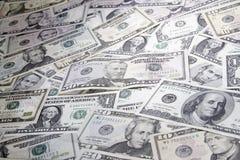 Amerykańscy banknoty zdjęcia royalty free