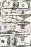 Amerykańscy banknoty fotografia royalty free