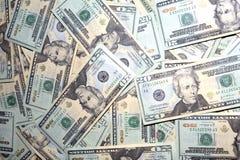 Amerykańscy Dolarowi Rachunki Zdjęcia Stock