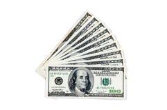 amerykańscy dolary Obraz Royalty Free
