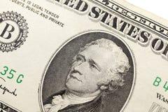 Amerykańscy dolary, zakończenie obraz stock