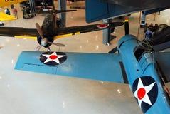 Amerykańscy i Japońscy Wojenni samoloty fotografia royalty free