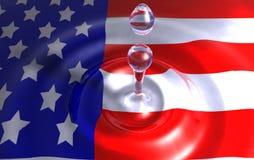 amerykańscy kolory Zdjęcie Royalty Free